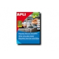 Caja Etiquetas Apli 35.6X16.9 10199 25 Hojas