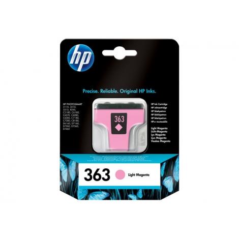 Cartucho HP 363 Magenta Claro Photosmart 3110/3210/3310/D6160/D7160/D7260/D7360/D7460/C5180