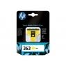 Cartucho HP 363 Yellow Photosmart 3110/3210/3310/D6160/D7160/D7260/D7360/D7460/C5180/C6180
