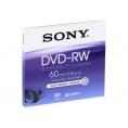 DVD-RW Sony 2.8GB 2X Mini Caja 1U