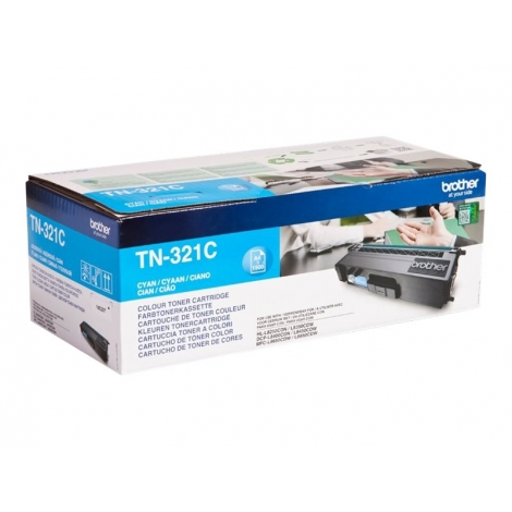 Toner Brother TN321 Cyan DCP-L8400 HL-L8250 MFC-L8650 1500 PAG
