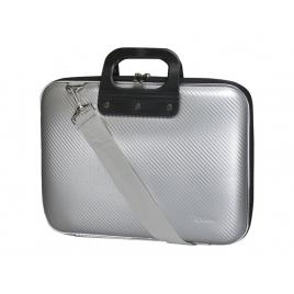"""Maletin Portatil E-VITTA 15.4 - 16"""" BAG Carbon Silver"""