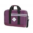 """Maletin Portatil E-VITTA 15.4"""" - 16"""" Looker Black/Purple"""