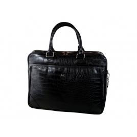 "Maletin Portatil E-VITTA 16"" Business Advance Leather Black"