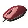 Mouse Logitech Optical M150 USB red