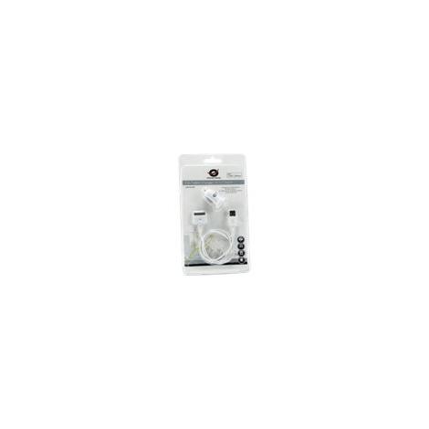 Cargador USB Conceptronic 5V 2Xusb para Coche + Cable Apple