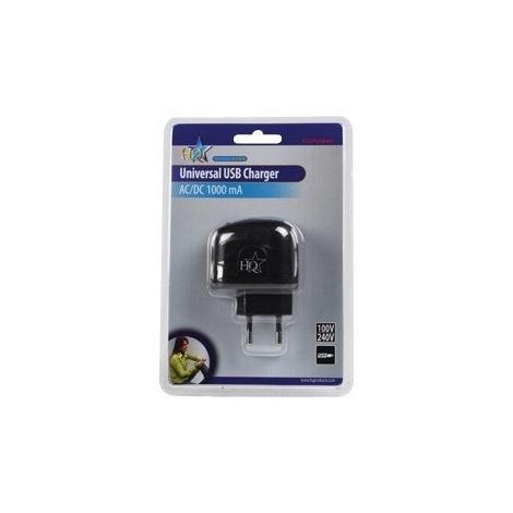 Cargador USB HQ USB401 5V 1000MAH para Casa