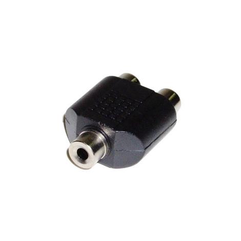 Adaptador Kablex Audio Jack 3.5MM Hembra / 2X RCA Hembra