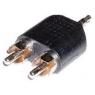 Adaptador Kablex Audio Jack 3.5MM Macho / 2X RCA Macho