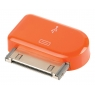Adaptador Kablex Conector Apple 30 Pines / Micro USB Orange