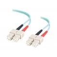 Cable C2G Fibra Optica 2 SC / 2 SC Multimodo 50/125 2M
