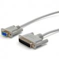 Cable Kablex 9 Hembra / 25 Macho Null Modem 3M
