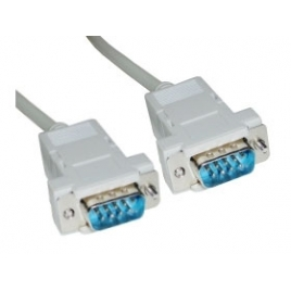 Cable Kablex 9 Macho / 9 Macho Null Modem 3M