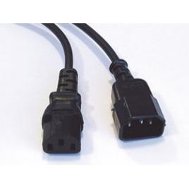 Cable Kablex Alimentacion CPU C13 / Monitor C14 2M