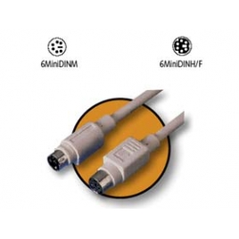 Cable Kablex PS2 Hembra / PS2 Macho 10M