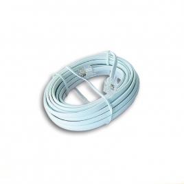 Cable Kablex Telefonico RJ11 5M White