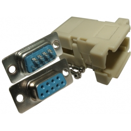 Conector Kablex DB9 Hembra + Carcasa Plastico