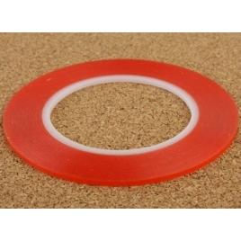 Cinta Adhesiva Doble Cara red Extrafina 2MM