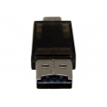 Lector Memorias Startech Micro SD Micro USB OTG