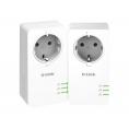 Adaptador PLC D-LINK DHP-P601AV Powerline 1000Mbps KIT 2U