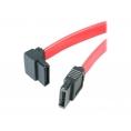 Cable Startech Sata Disco Duro 0.3M Acodado Izquierda