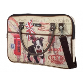 "Maletin Portatil E-VITTA 16"" Trendy Laptop DOG"