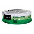 Dvd+Rw Sony 4.7GB Lata 25U
