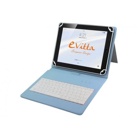 """Funda Tablet E-VITTA 7"""" - 8"""" Keytab Daisies + Teclado USB"""