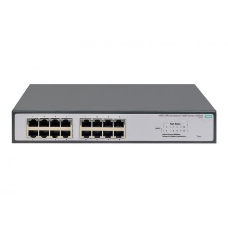 Switch HP 1420-16G 10/100/1000 16 Puertos