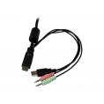 Conmutador KVM Startech 2X1 HDMI USB Audio