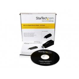 Tarjeta red Startech 10/100/1000 USB 3.0 Black