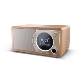 Radio Despertador Sharp DR-450 LCD Display Brown