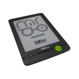 "Ebook Billow E03FL 6"" 4GB Tinta Electronica Light Black"