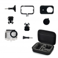 Carcasa Waterproof + Funda + Bolsa para Xiaomi mi Action Camera 4K