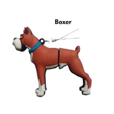 Memoria USB HT Animales 8GB DOG Boxer