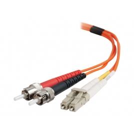 Cable C2G Fibra Optica 2 LC / 2 ST / 50/125 1M