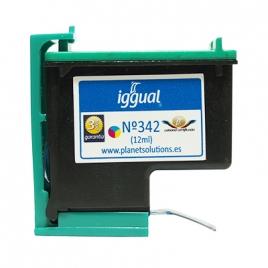 Cartucho Reciclado Iggual HP 342 Color 3X4ML