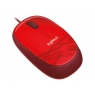 Mouse Logitech Optical Wheel Mouse M105 USB red