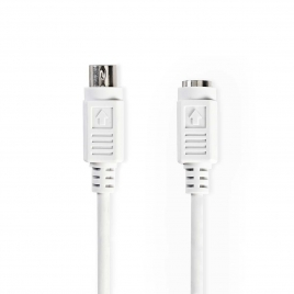 Cable Kablex PS2 Macho / PS2 Hembra 1.8M White