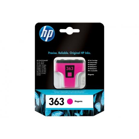 Cartucho HP 363 Magenta Photosmart 3110/3210/3310/D6160/D7160/D7260/D7360/D7460/C5180/C6180