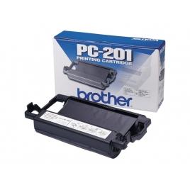 Cartucho Brother PC-201 Black para FAX 1020/Plus/1020E/30E