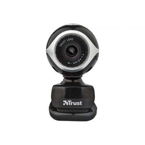 Webcam Trust Exis 0.3 Mpixel Black/Silver