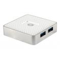 HUB Conceptronic USB 4 Puertos USB 3.0 White