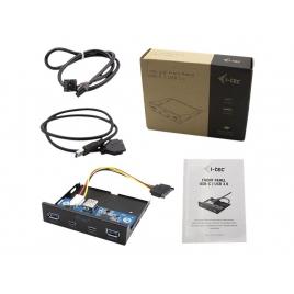 Panel Frontal I-TEC 2P USB 3.0 + 2P USB-C