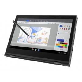 "Portatil 360 Lenovo Chromebook 500E CEL N4100 4GB 32GB SSD 11.6"" HD Chrome os Black"