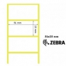Rollo Etiquetas Termica Zebra 2000T 51X25MM 2580U X 8 Rollos