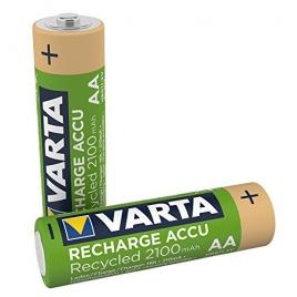 Pila Recargable Varta Recycled Tipo AA 2100MAH Pack 2