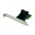 Controladora PCIE Conceptronic Sata 6 4P