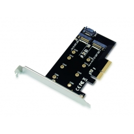Controladora PCIE X4 Conceptronic SSD M.2 Sata 2P