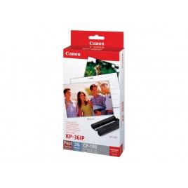 Cartucho Canon Kp36ip Tinta + 36 Hojas 10X15 CP100 CP200 CP300 CP400